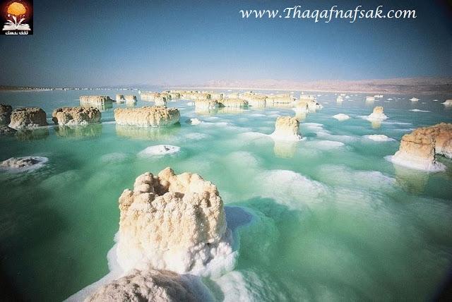 dead sea salt crystals 1%5B2%5D تكوينات غريبة للملح في البحر الميت