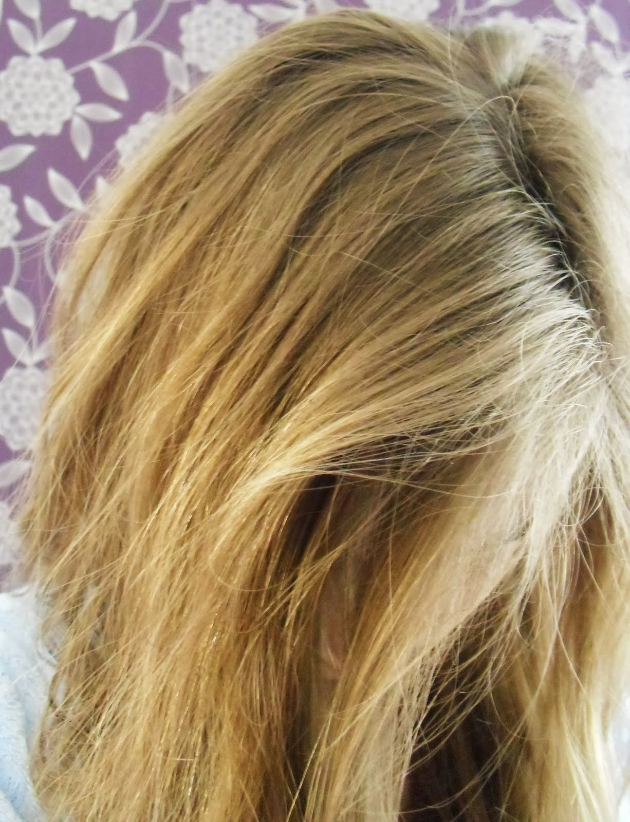 Subtle Purple Highlights In Blonde Hair I think the blonde version