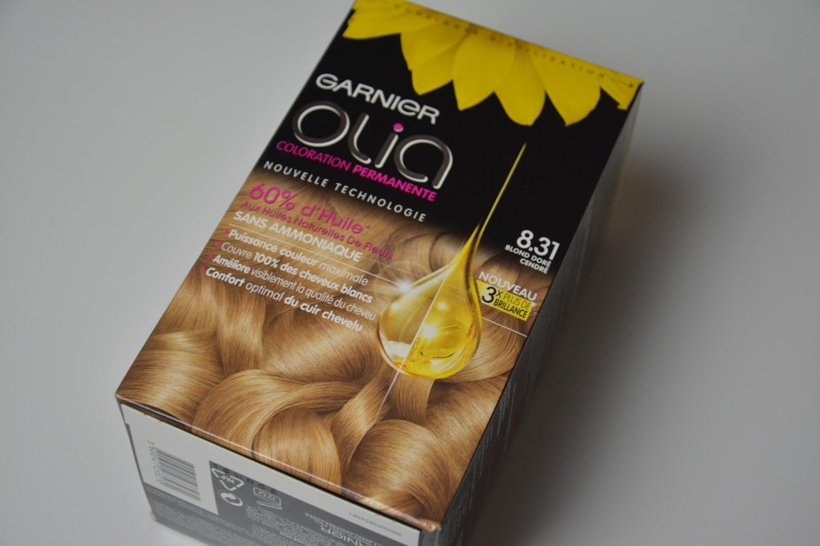 flora utilise cette gamme de coloration pour son blond et ma donc conseille celle ci jai choisi le 831 blond dor cendr - Coloration Olia Blond