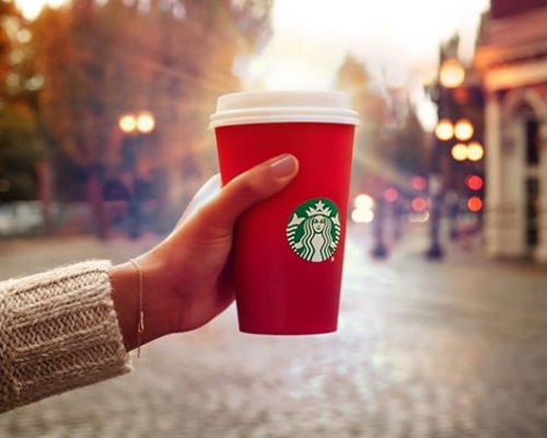 Starbucks BOGO Buy 1 Get 1 Free Holiday Drinks