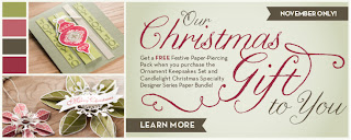 Free Festive Paper Piercing Pack with Ornament Keepsake & Candlelight Christmas Purchase before 30 November 2012 - contact Bekka to find out more. bekka@feeling-crafty.co.uk