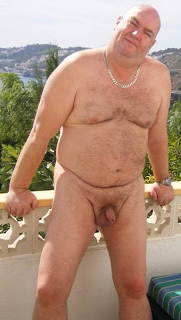scenicview100 Chubby Uncut Cock on a Silver Daddy