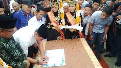 Tokoh Masyarakat Tebo, Dukung Zola Perbaiki Jalan Padang Lamo dan Jalan Simpang Sowmel