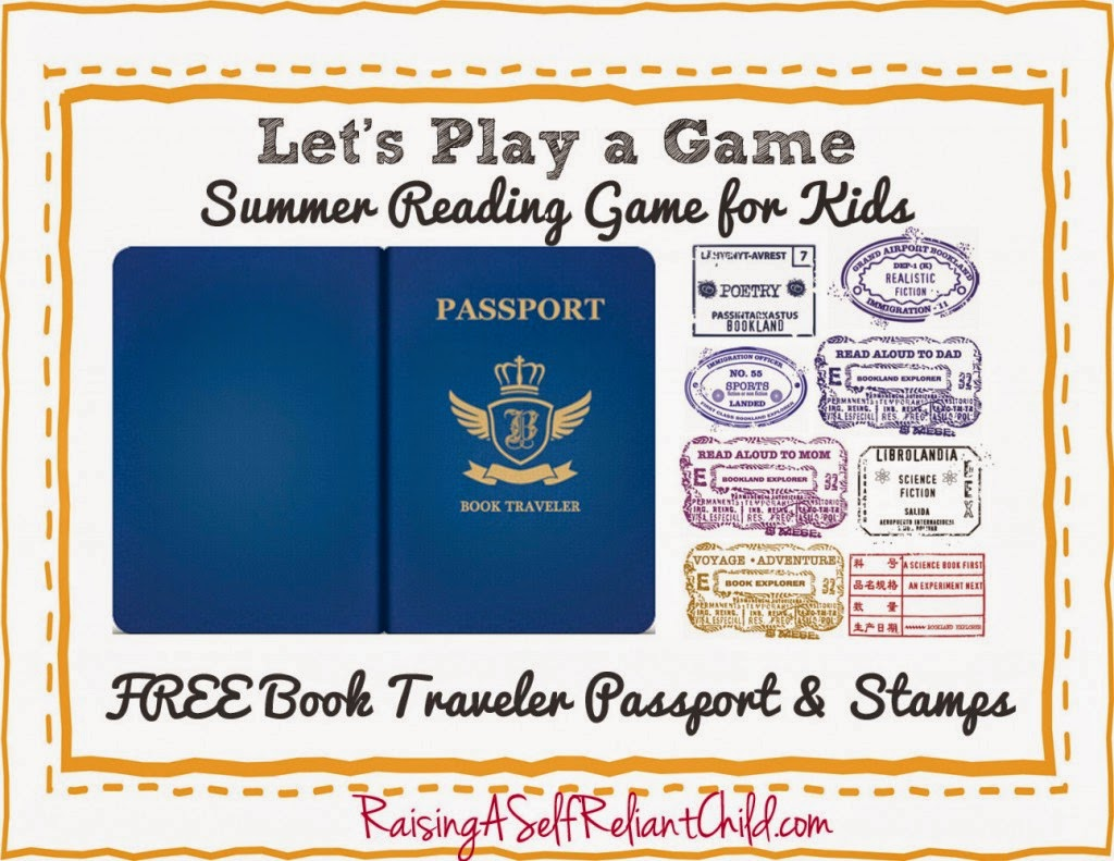 Click On The Image To Check Out The Blog And Find A Copy Of Your FREE  Passport.  Free Passport Template For Kids