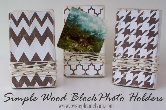 Today\'s Fabulous Finds: Featuring: (2x4) Wood Block Photo Frames and ...