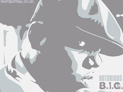 notorious b.i.g wallpaper - rapper art design