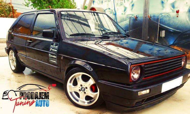 Prodajem tuning auto: 1991 Golf 2 GT Special Benzin
