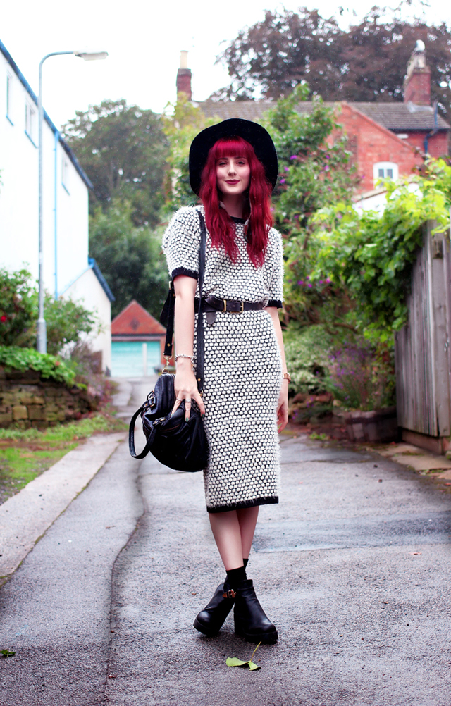 An Outfit Post featuring ASOS Co-ord Knitted T-Shirt and skirt