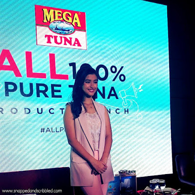 Liza Soberano's Perfect Partner Is Mega Tuna All 100% Pure Tuna
