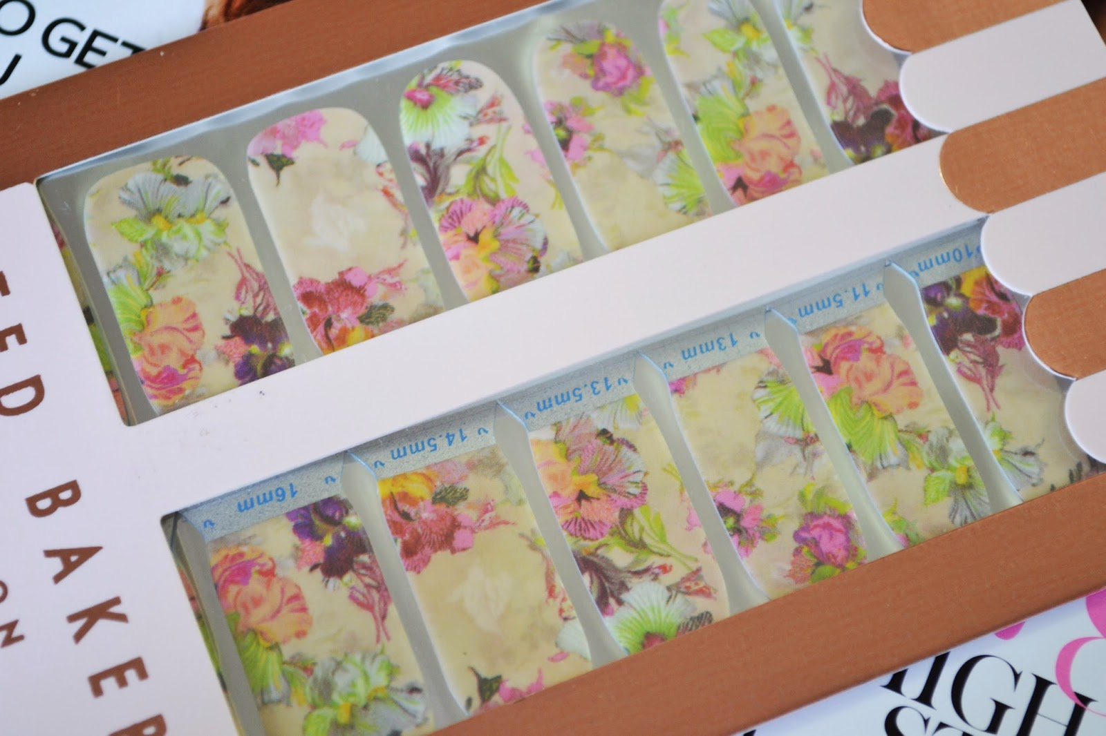 Ted Baker That's A Wrap Floral Nail Wrap - Aspiring Londoner