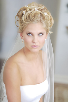 wedding hairstyles with tiaras and veils | Wedding Hairstyles With Veil