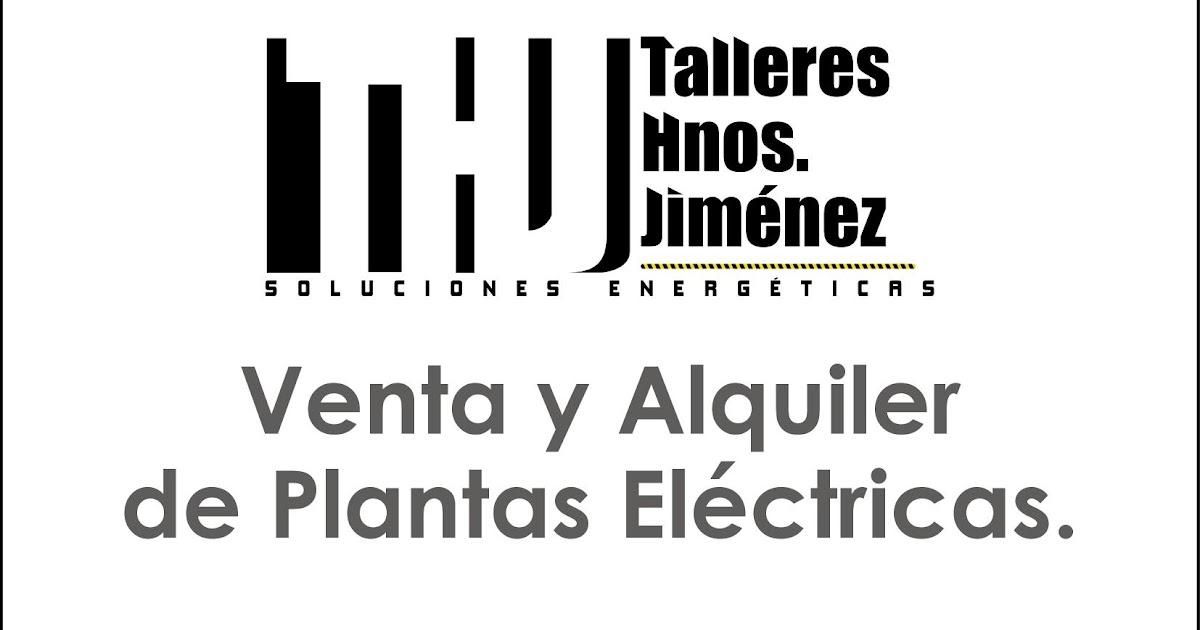 PLANTAS ELECTRICAS Y MAQUINARIAS ALQUILER PLANTAS ELECTRICAS