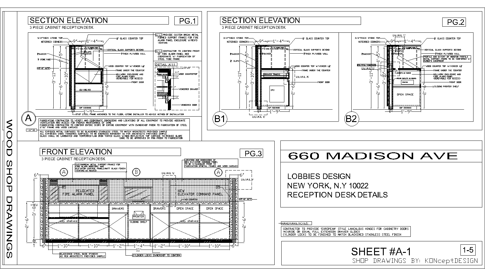 Reception Desk Designs Drawings The Reception Via