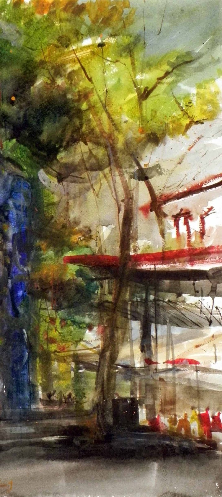 Before and after Symposium | Urban Sketchers