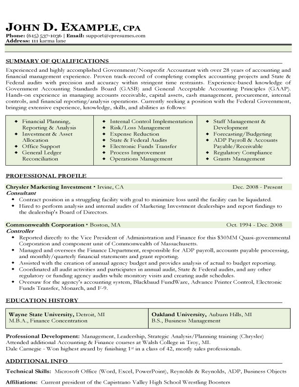 Accounting Resume. 1000+ Images About Best Accounting Resume ...