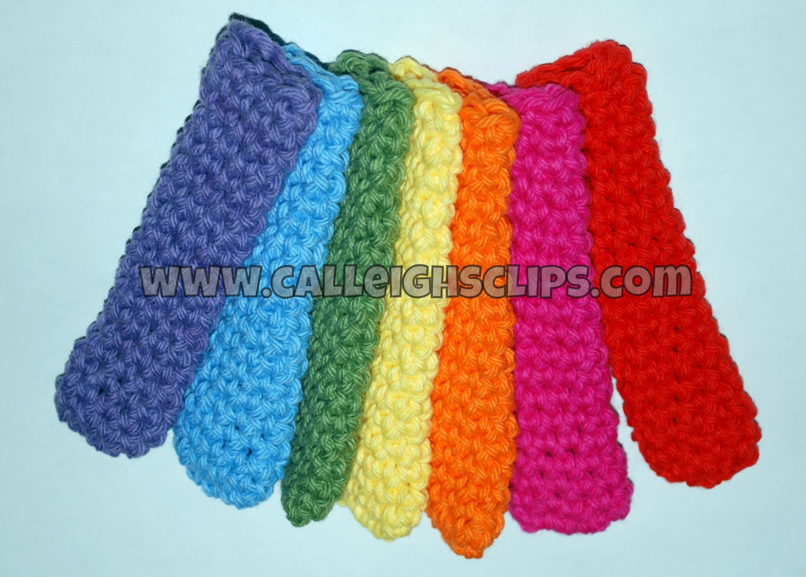Calleigh\'s Clips & Crochet Creations: Popsicle Snuggy - Free Crochet ...