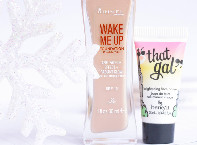 rimmel wake me up and benefit that gal