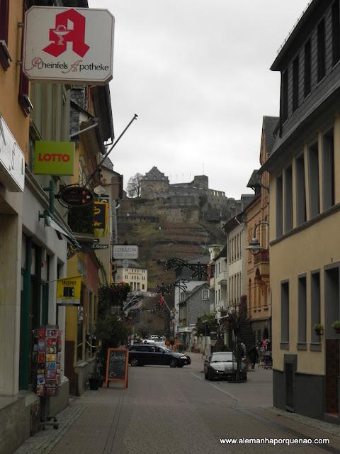 St. Goar e o Burg Rheinfels