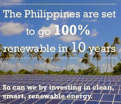 Philipppines to go to 100% renewable energy within a decade