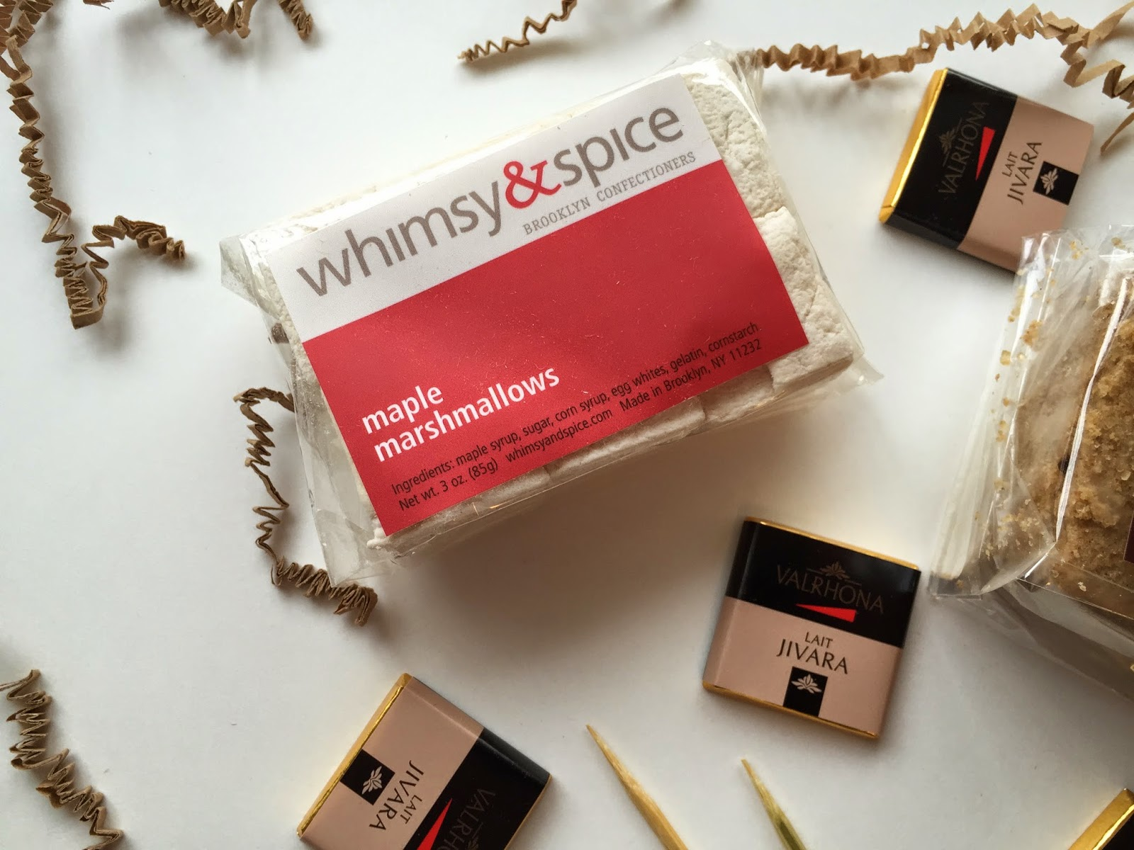 whimsy and spice smores kit marshmallows