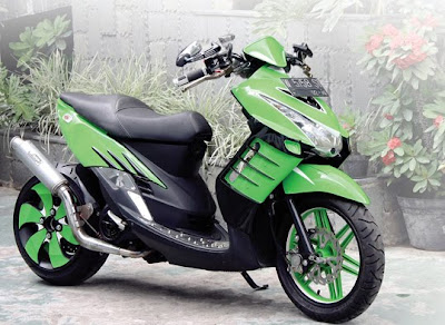 mio soul gt modifikasi