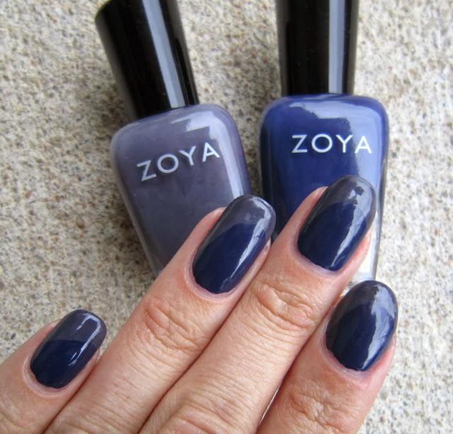 Concrete and Nail Polish: Zoya Sailor & Kelly