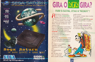 Sega Saturn italiano