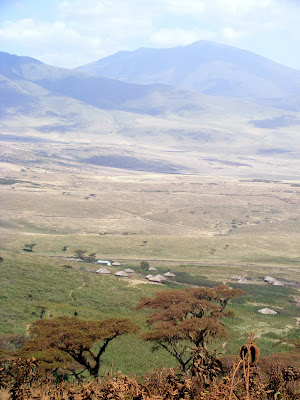 Valley near Ngorongoro conservation park, Tanzania, Africa by JoseeMM