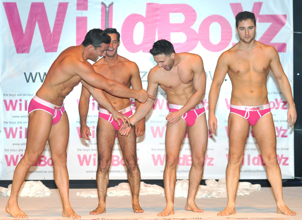 'WildBoyz' • From left to right: Alex Reid, Danny Young, Dale Howard and Marcus Patrick.