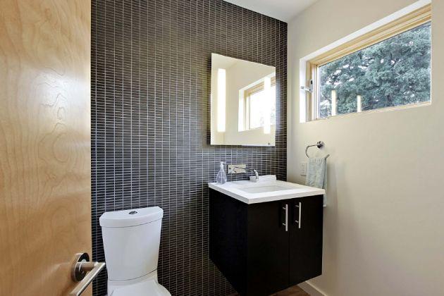 Chá de Casa Nova Banheiro -> Banheiro Planejado Preto