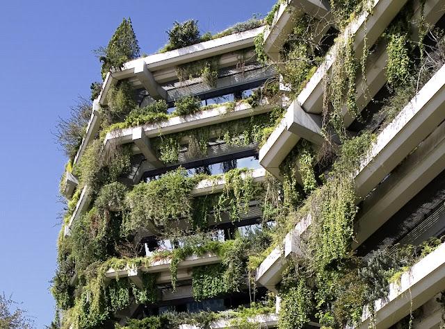 primer jardín vertical de Europa