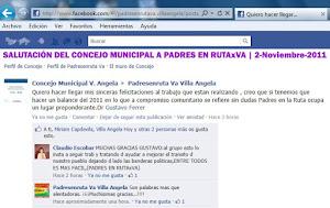 SALUTACION DEL CONCEJO MUNICIPAL V.A.