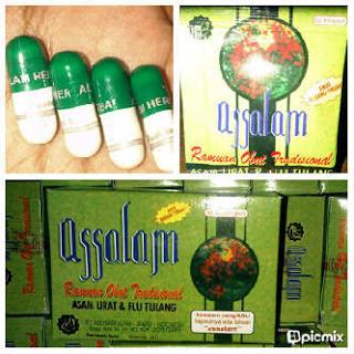ASSALAM : Obat Herbal untuk Asam urat - rematik   AGEN VITAMIN DAN ...