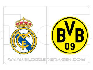 Prediksi Pertandingan Borussia Dortmund vs Real Madrid