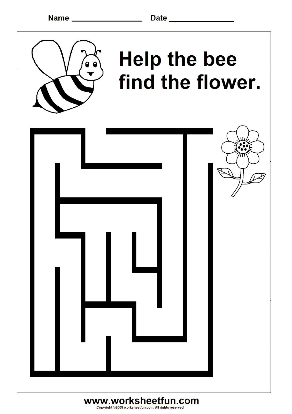 Preschool-Maze التسميات: تنمية مهارات ...