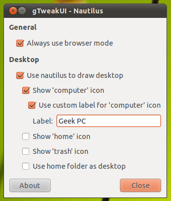 Gtweakui A Utility For Accessing Few Advanced Settings In Gnome 2 0