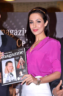 Malaika Arora at Mercedez Benz's magazine anniversary issue launch