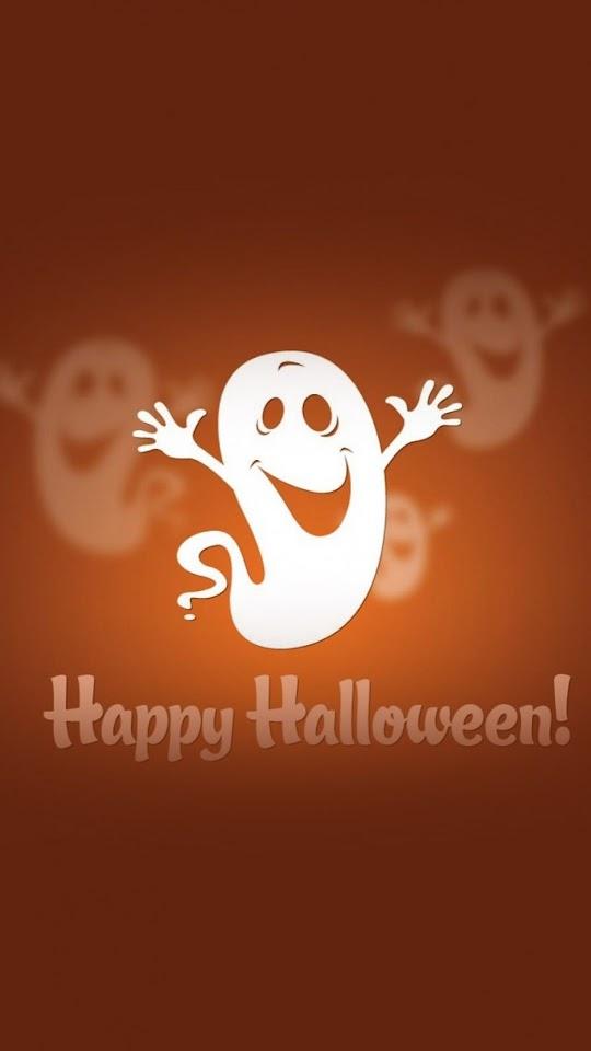 Cute Halloween Ghost   Galaxy Note HD Wallpaper