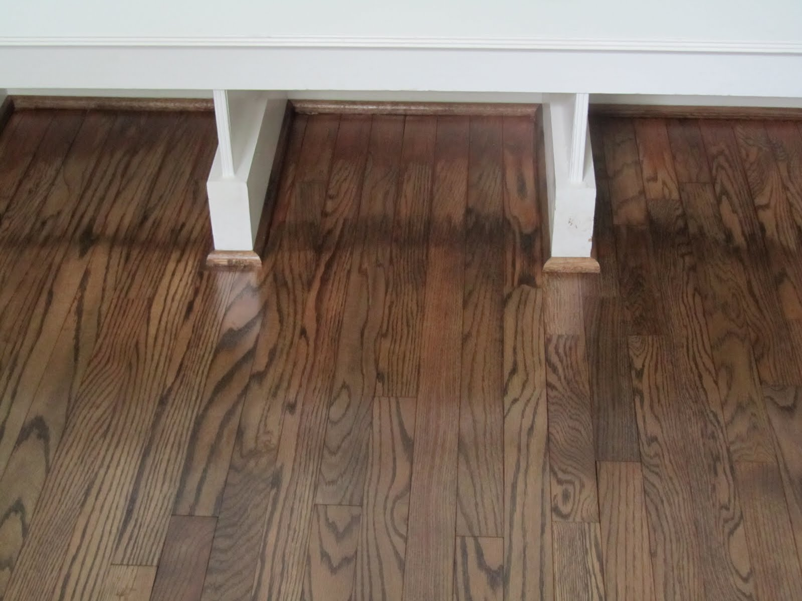 striped wood floor but two toned uh no thanks