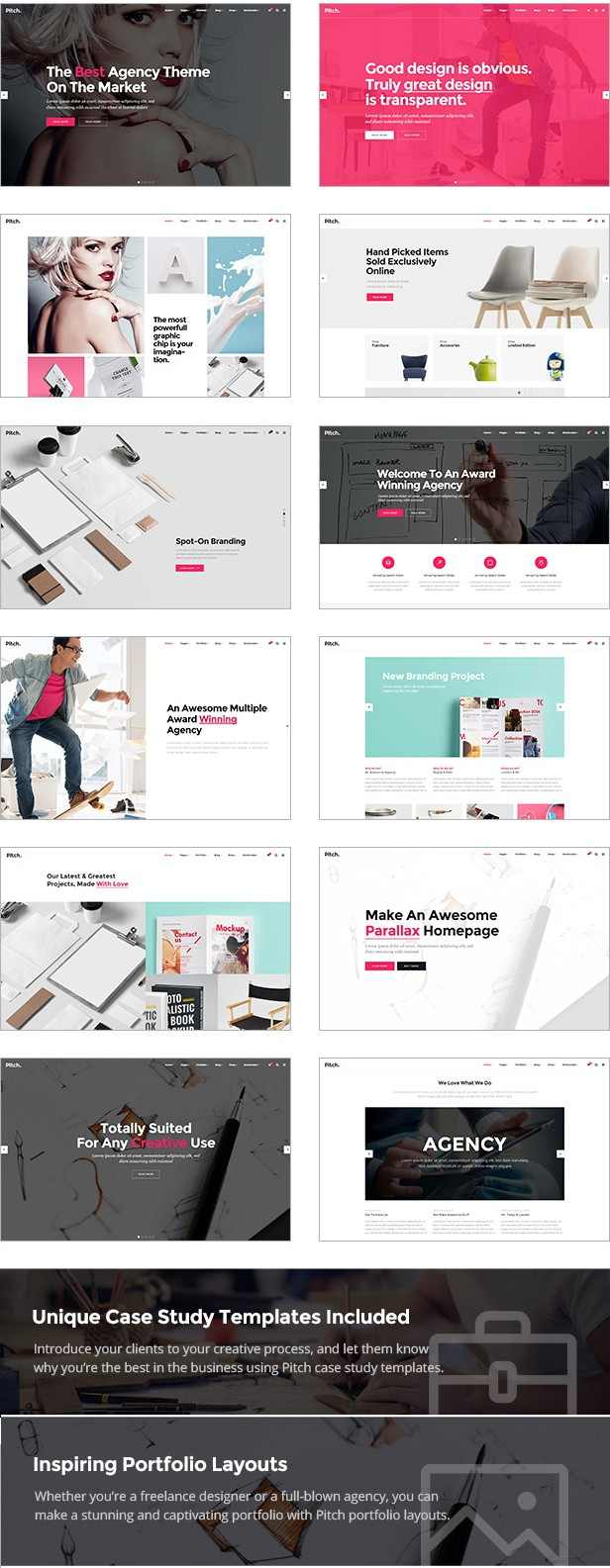 WordPress theme for Freelancers and Agencies