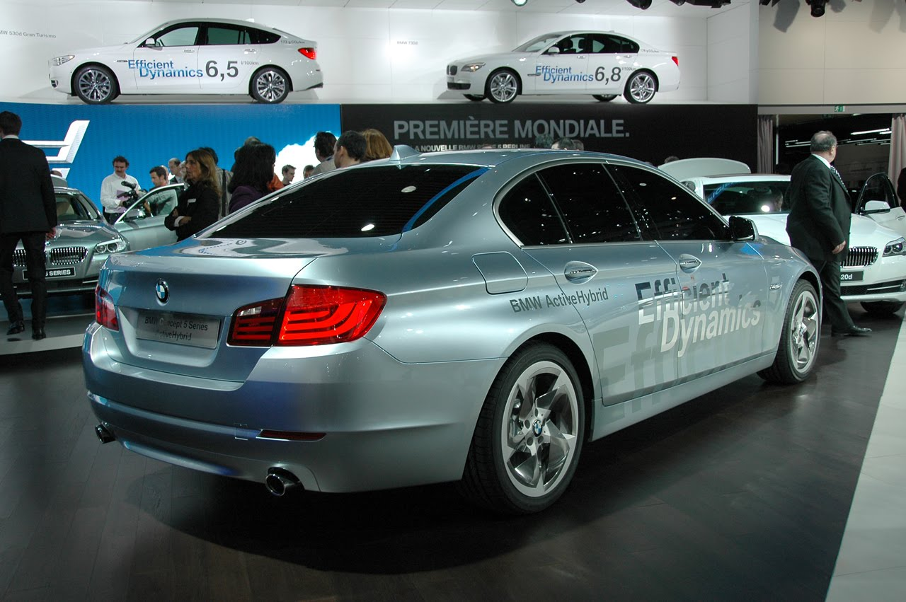 BMW ActiveHybrid 5 HD WALLPAPERS