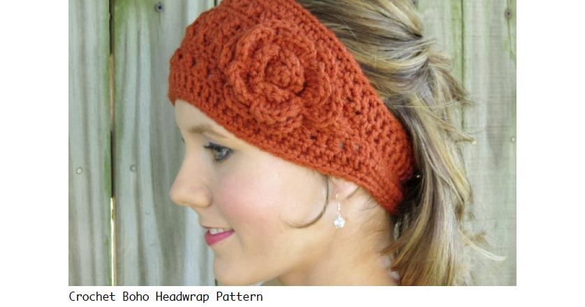Crochet Headwrap Pattern Free Crochet Headwrap Pattern By 4tdesigns