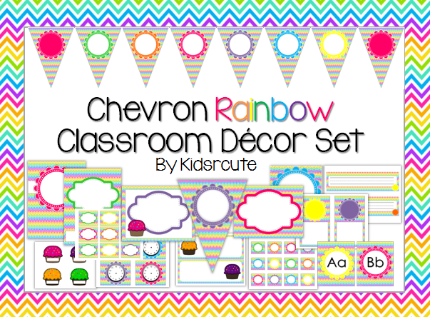 Classroom Decor Items : Creative lesson cafe summer lovin sale classroom decor sets