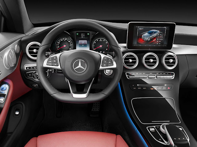 Mercedes-Benz Classe C Coupé - interior