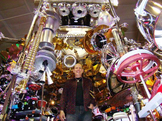El set de batería más grande del mundo (incluye 813 piezas y aumentando)