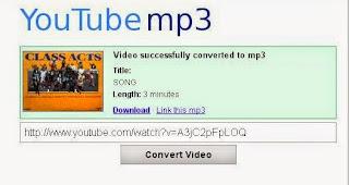 Cara Mudah Mengconvert File Video Youtube Menjadi Mp3