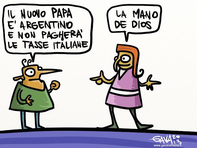 El Papa de oro gava vignette marco gavagnin argentino maradona mano de dios roma vaticano