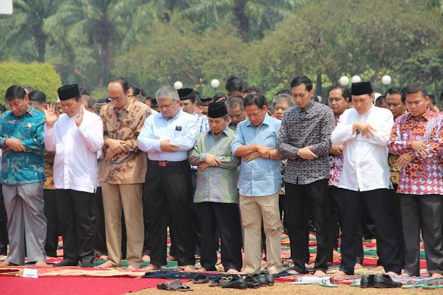 Politisi Senayan Sholat Istisqa, Berharap Allah Turunkan Hujan