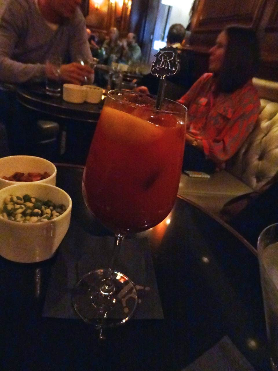 The Mary Terranea made with Grey Goose, St. Regis Bloody Mary mix,