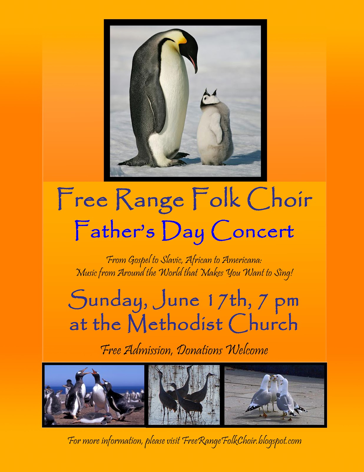 Free Range Folk Choir: Vashon Island Choir Concert on ...